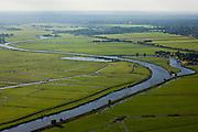 Nederland, Utrecht, Gemeente Soest, 03-10-2010; riviertje de Eem, doorsnijdt de polders tussen Baarn en Amersfoort.River Eem..luchtfoto (toeslag), aerial photo (additional fee required).foto/photo Siebe Swart