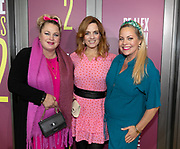 2019, October 07. DeLaMar Theater, Amsterdam, the Netherlands. Rian Gerritsen, Ilse Warringa and Maaike Martens at the premiere of Showponies 2.
