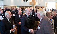 SOESTDUINEN - Ronald Pfeiffer neemt afscheid. Algemene Ledenvergadering van de NGF (Nederlandse Golf Federatie) met bestuurswisseling. COPYRIGHT KOEN SUYK