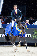 Maikel van Mierlo - Earley<br /> FEI World Breeding Jumping Championships for Young Horses 2014<br /> © DigiShots