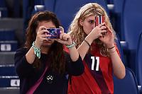 Tifose Norvegia Fans <br /> Roma 13-10-2015 Stadio Olimpico Euro 2016 qualificazioni - Qualifying round group H Italia - Norvegia / Italy - Norway Foto Andrea Staccioli / Insidefoto