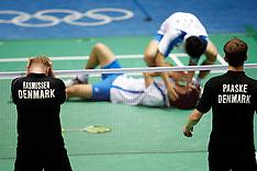 20080816 Olympics Beijing 2008, Badminton, Bronzekamp.