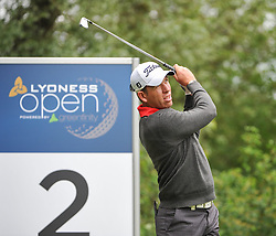 05.06.2014, Country Club Diamond, Atzenbrugg, AUT, Lyoness Golf Open, im Bild Yevgeny Kafelnikov (RUS) // Yevgeny Kafelnikov (RUS) in action during the Austrian Lyoness Golf Open at the Country Club Diamond, Atzenbrugg, Austria on 2014/06/05. EXPA Pictures © 2014, PhotoCredit: EXPA/ Sascha Trimmel