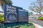 Dana Point Harbor Mariner's Village Signage