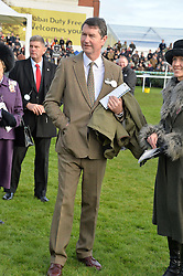 VICE ADMIRAL SIR TIMOTHY LAURENCE at the 2013 Hennessy Gold Cup at Newbury Racecourse, Berkshire on 30th November 2013.