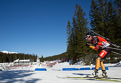 HENKEL Andrea of Germany competes during Women 12.5 km Mass Start competition of the e.on IBU Biathlon World Cup on Sunday, March 9, 2014 in Pokljuka, Slovenia. Photo by Vid Ponikvar / Sportida