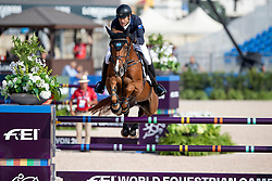 Willis Rowan, AUS, Blue Movie<br /> World Equestrian Games - Tryon 2018<br /> © Hippo Foto - Dirk Caremans<br /> 23/09/2018