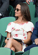 WIMBLEDON - UK - 27th June 2016: The Wimbledon Tennis Championships start at the All England Lawn Tennis Club, Wimbledon. S.E. London.<br /> <br /> Pic shows.; Pippa Middleton.<br /> ©Exclusivepix Media