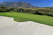 The 18th green at Finca Cortesin, Casares, Spain 18th May 2012 (Photo Eoin Clarke/www.golffile.ie)
