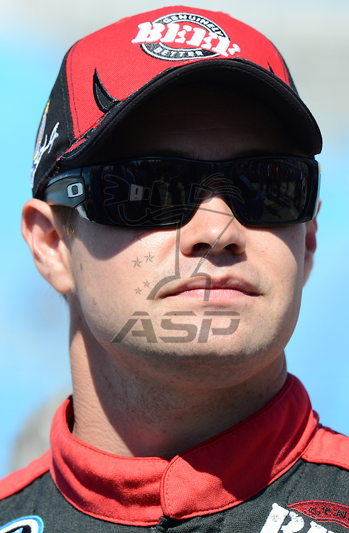 Homestead, FL - Nov 17, 2012: Ricky Stenhouse, Jr. (6) stands on pit row during qualifying for the Ford ECOBOOST 300 at the Homestead-Miami Speedway in Homestead, FL.