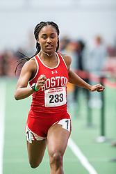 womens 60 meter, BU, Ebony Brown<br /> BU John Terrier Classic <br /> Indoor Track & Field Meet