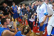 DESCRIZIONE : Firenze I&deg; Torneo Nelson Mandela Forum Italia Bulgaria<br /> GIOCATORE : Simone Pianigiani Coach<br /> SQUADRA : Nazionale Italia Uomini <br /> EVENTO : I&deg; Torneo Nelson Mandela Forum <br /> GARA : Italia Bulgaria<br /> DATA : 18/07/2010 <br /> CATEGORIA : Time Out<br /> SPORT : Pallacanestro <br /> AUTORE : Agenzia Ciamillo-Castoria/M.Gregolin<br /> Galleria : Fip Nazionali 2010 <br /> Fotonotizia : Firenze I&deg; Torneo Nelson Mandela Forum Italia Bulgaria<br /> Predefinita :