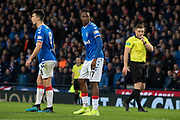 Joe Aribo of Rangers FC during the Betfred Scottish League Cup semi-final match between Rangers and Heart of Midlothian at Hampden Park, Glasgow, United Kingdom on 3 November 2019.