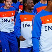 NLD/Katwijk/20100809 - Training van het Nederlands elftal, Urby Emanuelson