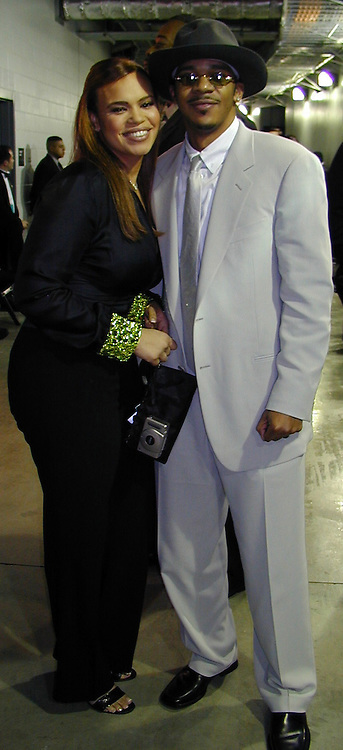 Faith Evans &amp; husband Todd<br />*****EXCLUSIVE*****<br />42nd Annual Grammy Awards Backstage<br />Staples Center<br />Los Angeles, CA, USA<br />Wednesday, February 23, 2000<br />Photo By Celebrityvibe.com/Photovibe.com