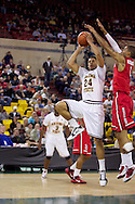 November 27th, 2010:  Anchorage, Alaska - Arizona State's Trent Lockett (24) goes up for a jump shot in the Sun Devil's 58-67 loss to St. Johns in the championship game of the Great Alaska Shootout.
