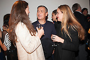 Opening of Morris Lewis: Cyprien Gaillard. From Wings to Fins, Sprüth Magers London Grafton St. London. Afterwards dinner at Simpson's-in-the-Strand hosted by Monika Spruth and Philomene Magers.