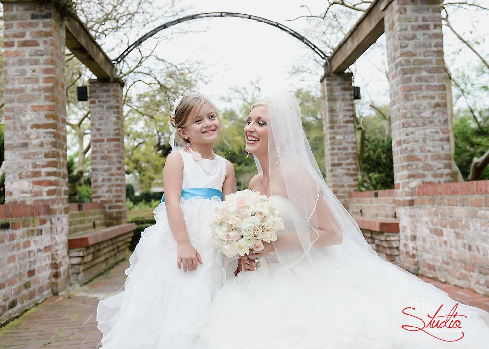 Heath & Holli Wedding Album | Botanical Gardens City Park, New Orleans, LA | 1216 Studio Photographers 2014