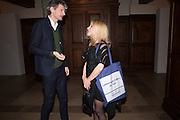 ANDREA LISONI; AMANDA WILKINSON, Whitechapel Gallery Art Icon Gala, supported by the Swarovski Foundation, Honoring the lifetime achievement of Joan Jonas. Christ Church Spitafields. London.