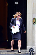 © Licensed to London News Pictures. 21/05/2013. Westminster, UK. Justine Greening, Conservative MP,  International Development Secretary.  Ministers arrive for a Cabinet meeting at Downing Street today 21 May 2013. Photo credit : Stephen Simpson/LNP