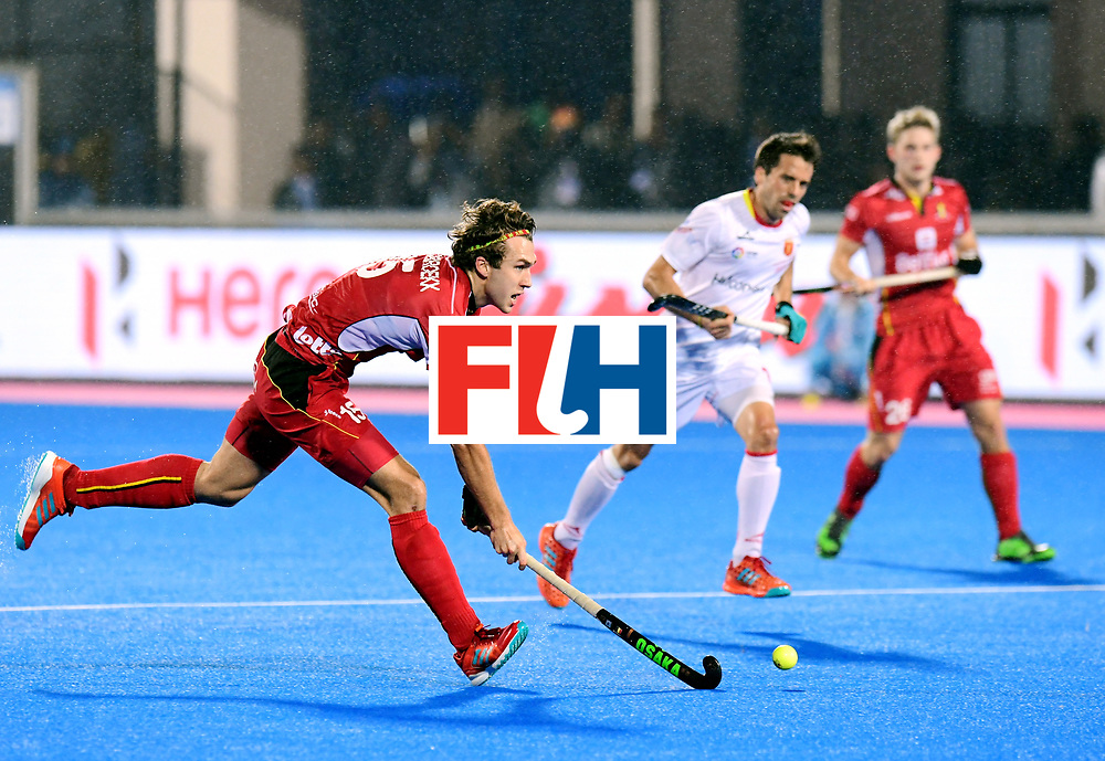Odisha Men's Hockey World League Final Bhubaneswar 2017<br /> Match id:18<br /> Belgium v Spain<br /> Foto: Manu Stockbroekx (Bel) <br /> COPYRIGHT WORLDSPORTPICS FRANK UIJLENBROEK