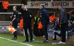 Peterborough United Manager Grant McCann shouts instructions from the touchline alongside Doncaster Rovers manager Darren Ferguson - Mandatory by-line: Joe Dent/JMP - 01/01/2018 - FOOTBALL - ABAX Stadium - Peterborough, England - Peterborough United v Doncaster Rovers - Sky Bet League One