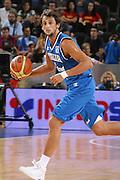 DESCRIZIONE : Madrid Spagna Spain Eurobasket Men 2007 Qualifying Round Germania Italia Germany Italy GIOCATORE : Marco Belinelli <br /> SQUADRA : Nazioanle Italia Uomini Italy <br /> EVENTO : Eurobasket Men 2007 Campionati Europei Uomini 2007 <br /> GARA : Germania Italia Germany Italy <br /> DATA : 12/09/2007 <br /> CATEGORIA : Palleggio<br /> SPORT : Pallacanestro <br /> AUTORE : Ciamillo&amp;Castoria/JF.Molliere <br /> Galleria : Eurobasket Men 2007 <br /> Fotonotizia : Madrid Spagna Spain Eurobasket Men 2007 Qualifying Round Germania Italia Germany Italy Predefinita :