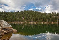 """Marlette Lake 2"" - Photograph of Marlette Lake, shot in the morning."