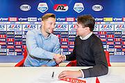 ALKMAAR - 07-04-2016, AZ contracteert Rens van Eijden, AFAS Stadion, Max Huiberts