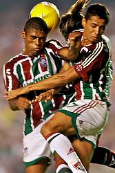 Lance de jogo entre o Fluminense e a LDU válida pela Copa Libertadores da América 2008, em 03 de julho de 2008 no estádio Maracanã. FOTO: Jefferson Bernardes/Preview.com