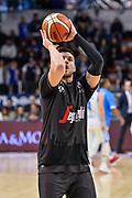 Alessandro Gentile<br /> Banco di Sardegna Dinamo Sassari - Virtus Segafredo Bologna<br /> Legabasket Serie A LBA PosteMobile 2017/2018<br /> Sassari, 11/02/2018<br /> Foto L.Canu / Ciamillo-Castoria