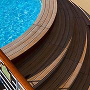 Pool on Bow of Saphire Princess