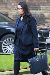Downing Street, London, January 17th 2017. International Development Secretary Priti Patel arrives at the weekly cabinet meeting at 10 Downing Street.