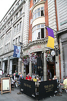 The Oval traditional Irish bar on Abbey Street in Dublin Ireland