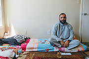 Gulab at his apartment in Fort Worth, Texas on May 4, 2016.
