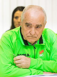 Martin Steiner during press conference of Slovenian Team for European Indoor Athletics Championships Prague 2015, on March 4, 2015 in Ljubljana, Slovenia. Photo by Vid Ponikvar / Sportida