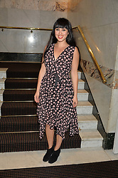 JASMINE HEMSLEY at the UK Premiere of The Uncondemned hosted by Women for Women International at BAFTA, 195 Piccadilly, London on 2nd November 2016.