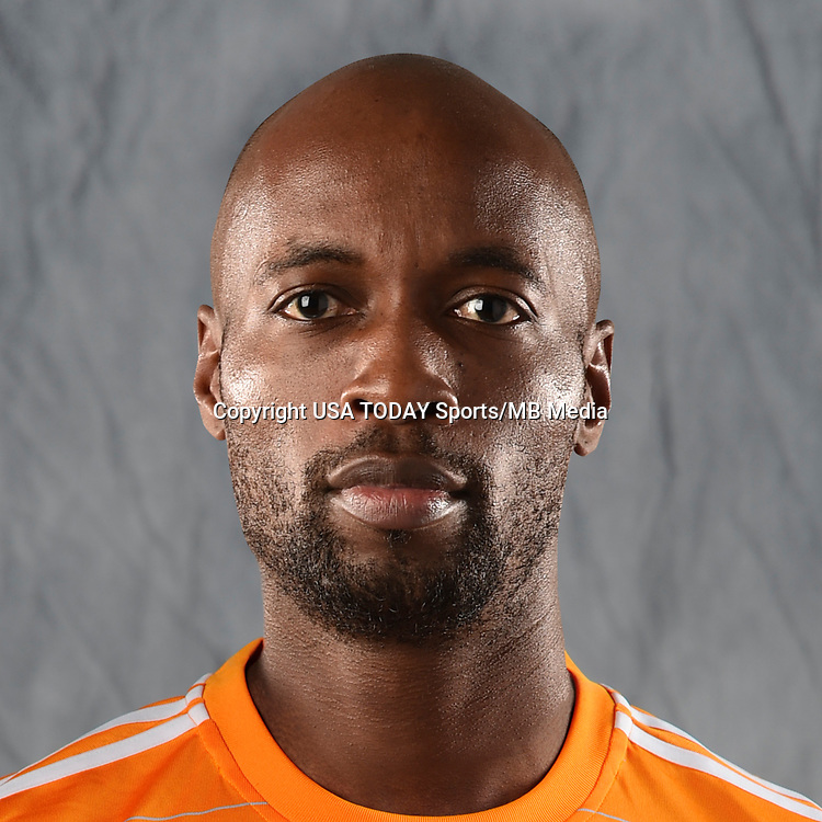 Feb 25, 2017; USA; Houston Dynamo player DaMarcus Beasley poses for a photo. Mandatory Credit: USA TODAY Sports