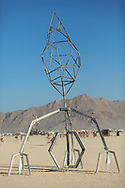 Wizard's piece. (Bent out of shape.) My Burning Man 2019 Photos:<br />
