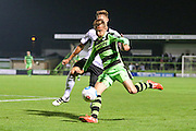 Forest Green Rovers Elliott Frear (11) passes the ball during the Vanarama National League match between Forest Green Rovers and Eastleigh at the New Lawn, Forest Green, United Kingdom on 13 September 2016. Photo by Shane Healey.