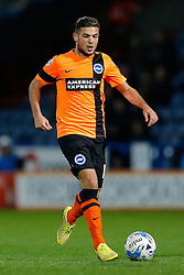 Jake Forster-Caskey of Brighton in action - Photo mandatory by-line: Rogan Thomson/JMP - 07966 386802 - 21/10/2014 - SPORT - FOOTBALL - Huddersfield, England - The John Smith's Stadium - Huddersfield Town v Brighton & Hove Albion - Sky Bet Championship.