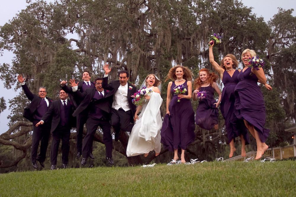 Carole Mailman &amp; Cory Mayback's wedding day, September 5, 2010 Highland Manor, Apopka, Florida.<br /> <br /> Images by WIllie J. Allen Jr. &amp; Chris Zuppa