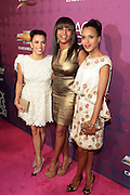 October 13, 2012- Bronx, NY: (L-R) Actresses Eva Longoria, Taraji P. Henson and Kerry Washington at the Black Girls Rock! Awards Red Carpet presented by BET Networks and sponsored by Chevy held at the Paradise Theater on October 13, 2012 in the Bronx, New York. BLACK GIRLS ROCK! Inc. is 501(c)3 non-profit youth empowerment and mentoring organization founded by DJ Beverly Bond, established to promote the arts for young women of color, as well as to encourage dialogue and analysis of the ways women of color are portrayed in the media. (Terrence Jennings)