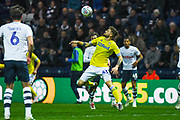 Mateusz Klich of Leeds United (43) in action during the EFL Sky Bet Championship match between Preston North End and Leeds United at Deepdale, Preston, England on 9 April 2019.