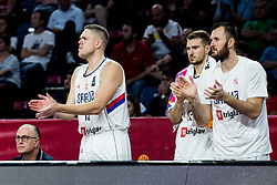 Vladimir Stimac of Serbia during basketball match between National Teams of Serbia and Hungary at Day 11 in Round of 16 of the FIBA EuroBasket 2017 at Sinan Erdem Dome in Istanbul, Turkey on September 10, 2017. Photo by Vid Ponikvar / Sportida