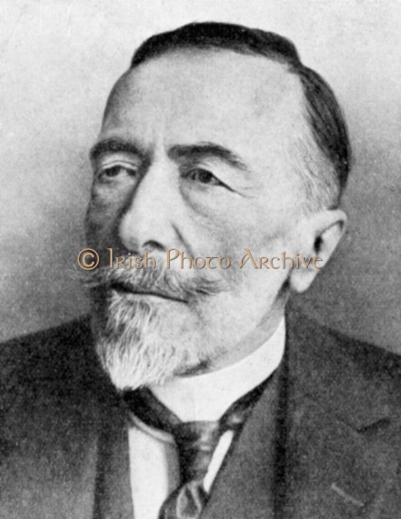 Joseph Conrad (1857-1924) Polish-born British novelist.