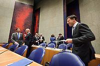 Nederland. Den Haag, 26 oktober 2010.<br /> De Tweede Kamer debatteert over de regeringsverklaring van het kabinet Rutte.<br /> <br /> Kabinet Rutte, regeringsverklaring, tweede kamer, politiek, democratie. regeerakkoord, gedoogsteun, minderheidskabinet, eerste kabinet Rutte, Rutte1, Rutte I, debat, parlement<br /> Foto Martijn Beekman