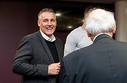 Bristol City Assistant Manager John Pemberton chats with fans - Mandatory byline: Robbie Stephenson/JMP - 26/04/2016 - FOOTBALL - Ashton Gate - Bristol, England - Players Q&A