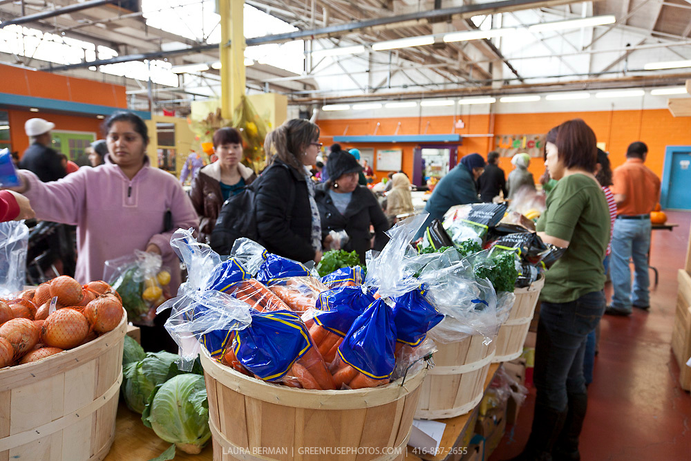 A Good Food Market at The Learning Enrichment Foundation.