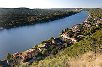 Lake Austin from Mount Bonnell, Austin, Texas